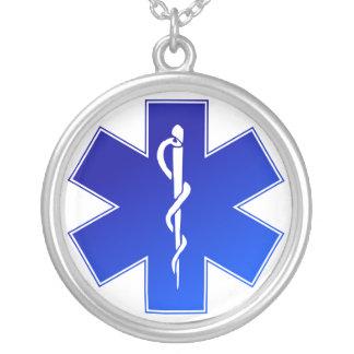 Símbolo médico do EMS Bijuteria Personalizada