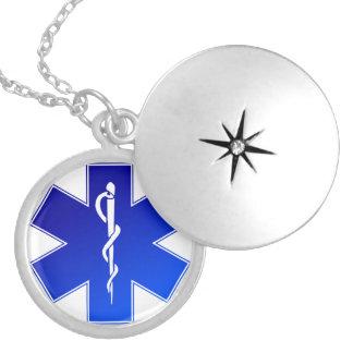 Símbolo médico do EMS Locket
