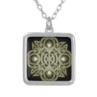Símbolo místico de pedra bijuterias personalizadas