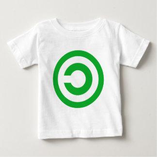 Símbolo verde do dominio público de Anti-Copyright T-shirts