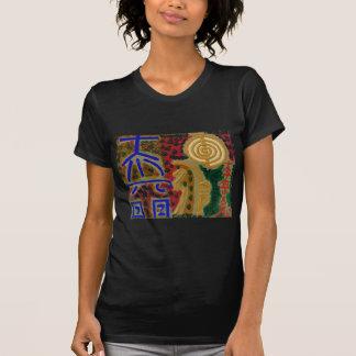 Símbolos curas do vintage REIKI como dito pelo T-shirt