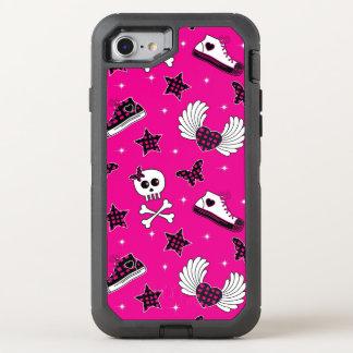 Símbolos de Emo Capa Para iPhone 7 OtterBox Defender