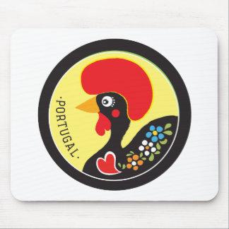 Símbolos de Portugal - Galo de Barcelos Mousepad