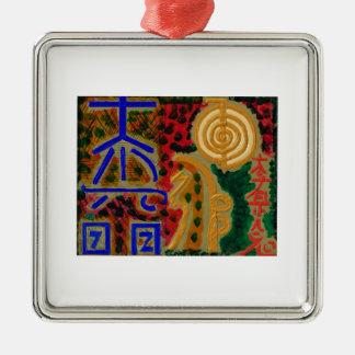 Símbolos mestres puros de Reiki Enfeites De Natal