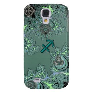 Símbolos verdes do céltico do Sagitário do sinal Capas Personalizadas Samsung Galaxy S4