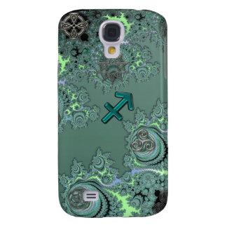 Símbolos verdes do céltico do Sagitário do sinal Galaxy S4 Cover