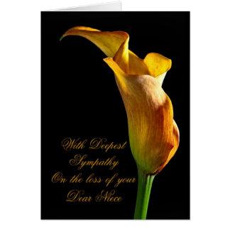 Simpatia na perda de sobrinha cartão comemorativo