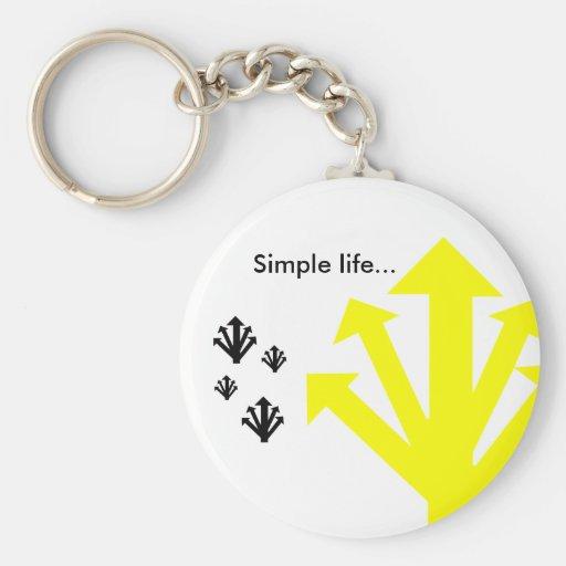 Simple life... PORTA-CHAVES Chaveiros