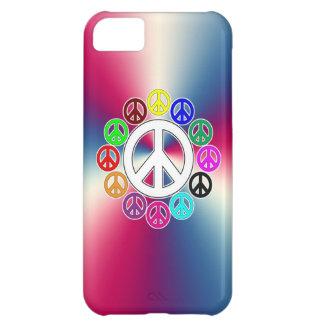 sinais de paz retros capa para iPhone 5C