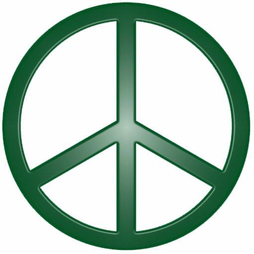 Sinal de paz escultura foto