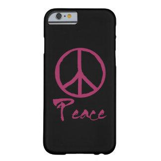 Sinal de paz retro capa barely there para iPhone 6