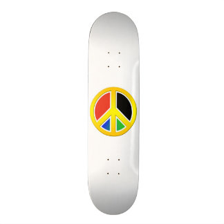 Sinal de paz shape de skate 20cm
