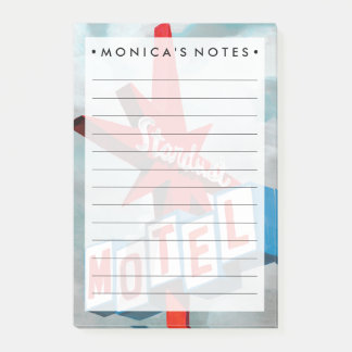 Sinal do motel de Stardust Post-it Note