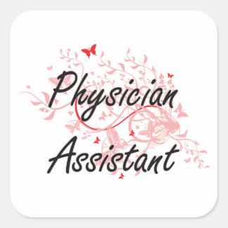 Sistema de trabalho artístico assistente do médico adesivo quadrado