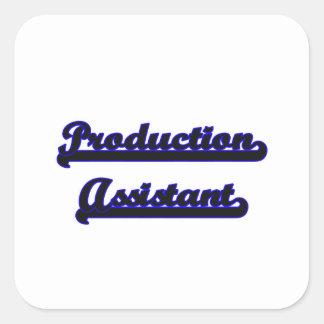 Sistema de trabalho clássico assistente da adesivo quadrado