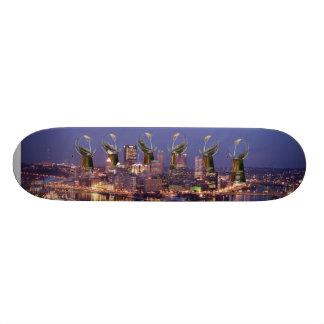 Sixburgh, A.C.M.D, toda a competição deve morrer Shape De Skate 18,1cm