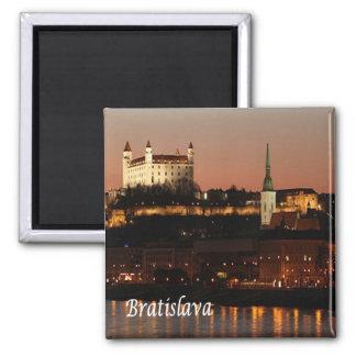 SK - Slovakia - Bratislava Ímã Quadrado