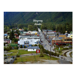 Skagway, Alaska Cartão Postal
