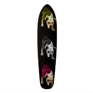 Skate bb 1368 do pop art do cão de filhote de cachorro