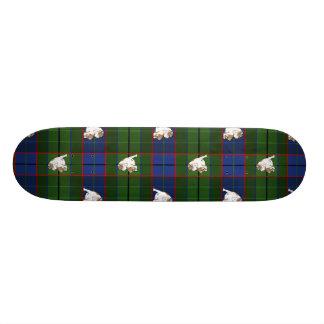 Skate Buldogue verde do Tartan