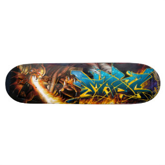 Skate Chama sobre! no Dungeon de Durin - plataforma da