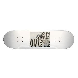 Skate com design da zebra