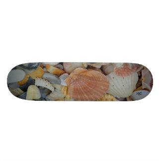 skate com escudos do mar