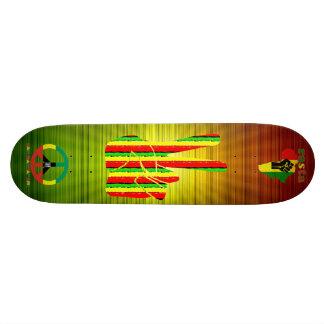 Skate da reggae de Rasta