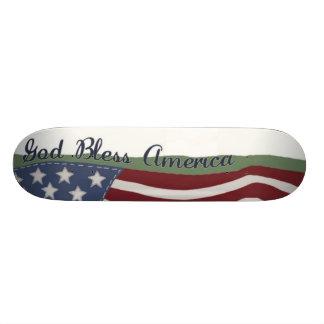 Skate de América dos deus abençoe