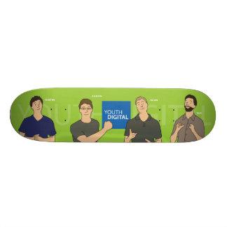 Skate de Digitas da juventude