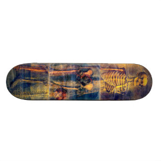 Skate de esqueleto