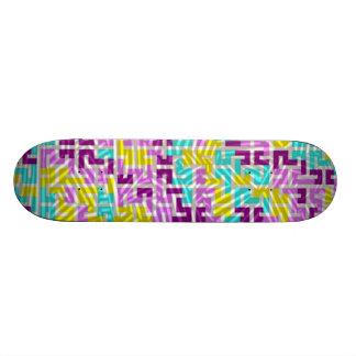 Skate de Geometrics, cor-de-rosa