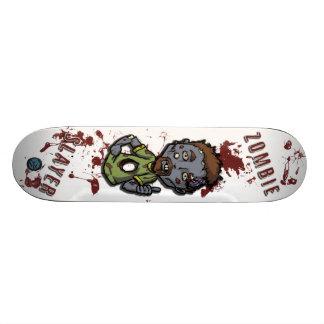 Skate do assassino do zombi pro (zombi claro Zack)