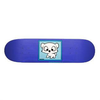 Skate do design da panda de Chibi