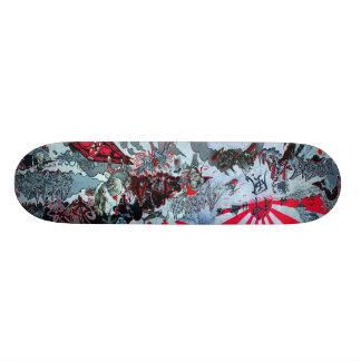 Skate do KamiKaze - plataforma dos grafites Sk8