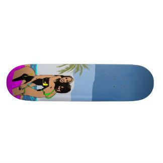 Skate dos borrachos da praia