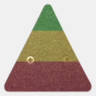 Skate Griptape de Rasta Adesivo Triângulo