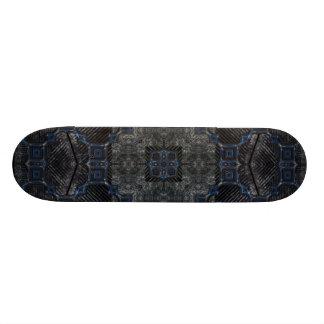 Skate Grunge preto & azul Utopia