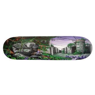 Skate Guardião dos Lilacs - plataforma da arte Sk8 da
