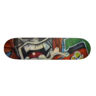 Skate Homem das cavernas real dos grafites! O conselho