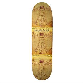 Skate Homem de Vitruvian por Leonardo da Vinci