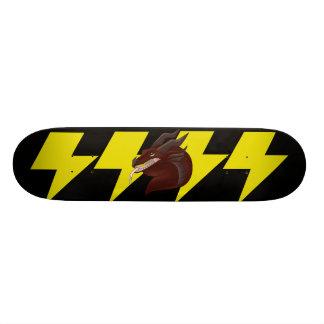 Skate medieval do raio do dragão