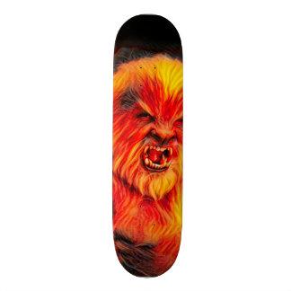 Skate O conselho ardente do parque do homem do lobo