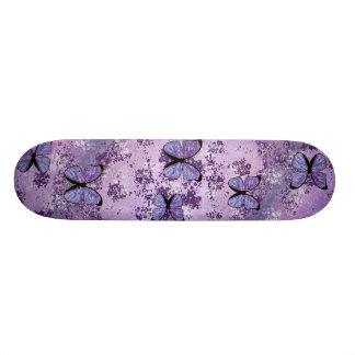 Skate roxo do Grunge