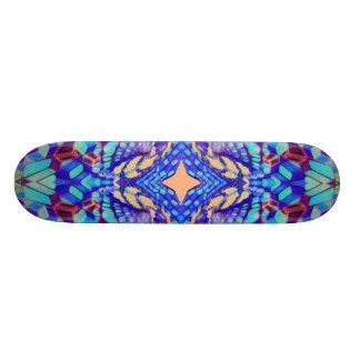 Skate Skateboarding sagrado como um hexágono