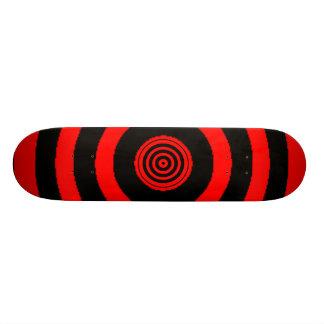 Skate vermelho do Bullseye