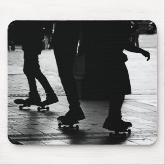 Skateboarding no Central Park, NYC Mouse Pad