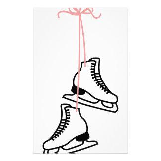 Skates de gelo papelaria