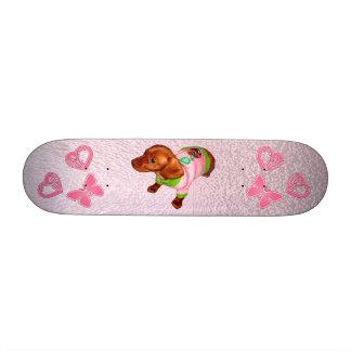 Skates para meninas dos novatos, skates das menina