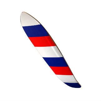 Skates STRIPE20 tricolor de FRANCE do LA de VIVE